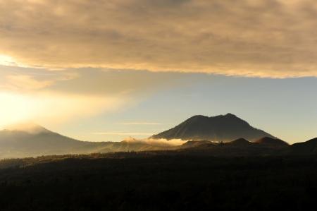 underprivileged: View Point di Kawah Ijen vulcano, Indonesia Archivio Fotografico