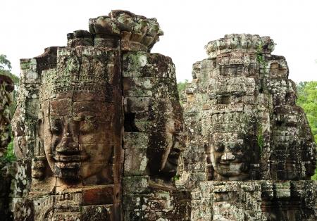 Bayon Temple of Angkor Thom, Cambodia