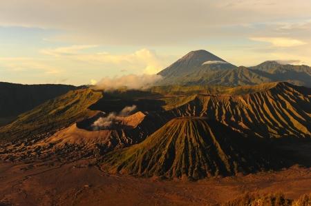 The Peak of Mount Bromo Volcano, Indonesia