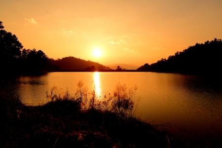 Sunset Lake Heaven photo