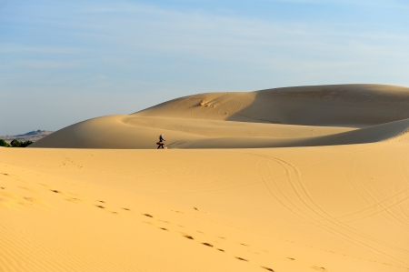 Sand Dunes at Deserts Landscape photo