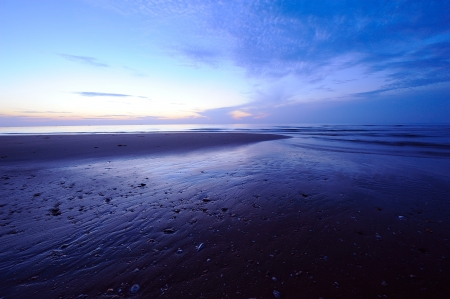 Twilight Scene Seascape Beach photo