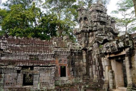 angkor thom: Ancient Ruin of Angkor Temple in Angkor Thom, Cambodia