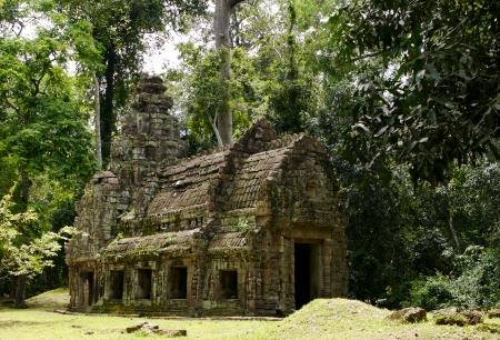 angkor wat: Ancient Temple in Angkor Thom, Cambodia