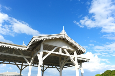 Wood Pavillion at Blue Sky photo