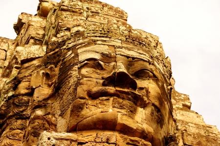 ta: Bayon Temple, Main Temple in Angkor Thom, Cambodia