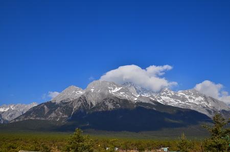 Alpine Mountain Landscape photo