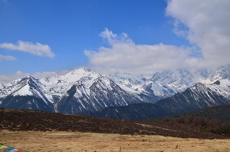 Snow Mountain Landscape photo