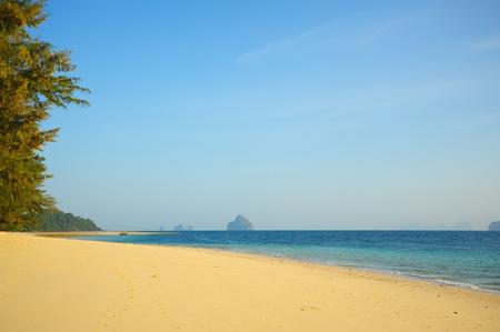 pure: Pure Beach at Summer Season Stock Photo