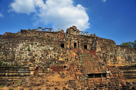 thom: Baphuon Temple of Angkor Thom in Cambodia Stock Photo