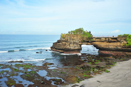 Tanah Lot Temple at Bali Island, Indonesia