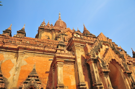 Old Pagoda in Bagan, Myanmar Stock Photo