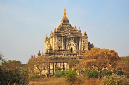 bagan: Old Pagoda in Bagan, Myanmar Stock Photo