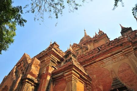 bagan: Old Pagodas in Bagan, Myanmar