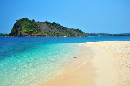 White Sand Beach on Tropical Islands