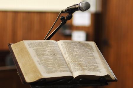 christus: Bible in church