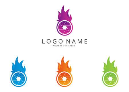 versions: Fire camera logo. 4 versions