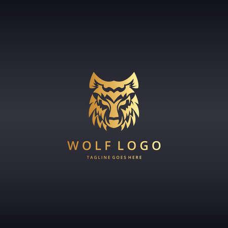 creative strength: wolf logo