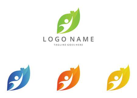 regimen: Ecology logo. Illustration