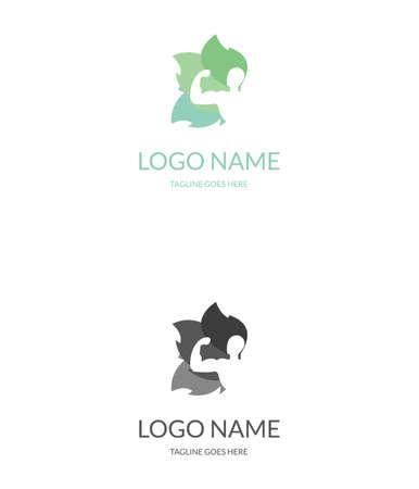 regimen: Ecology power logo. Gym logo