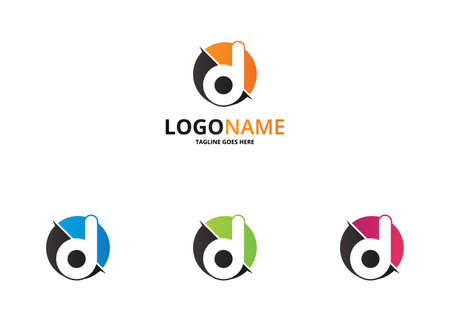 versions: D letter logo. 4 versions