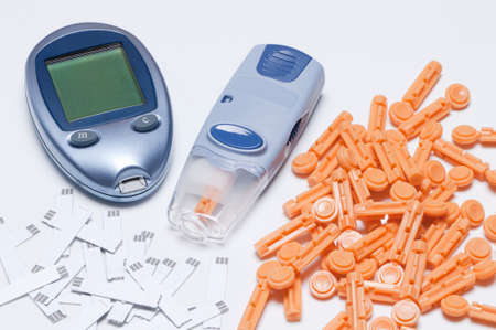 puncture: Self blood glucose meters