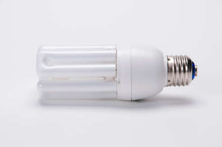 lightup: Fluorescent lamp Stock Photo