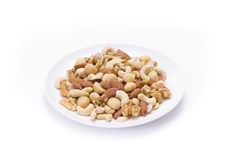 mixed nuts: Mixed nuts Stock Photo