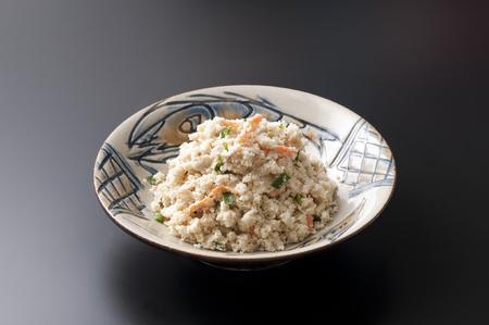 okinawa: Okara and Okinawa tableware