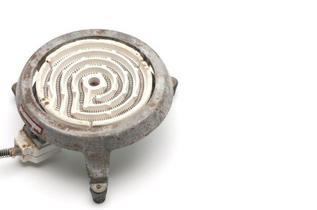 retro: Old electric stove