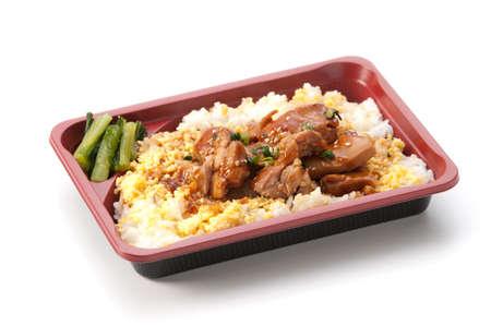 bento: yakitori lunch bento