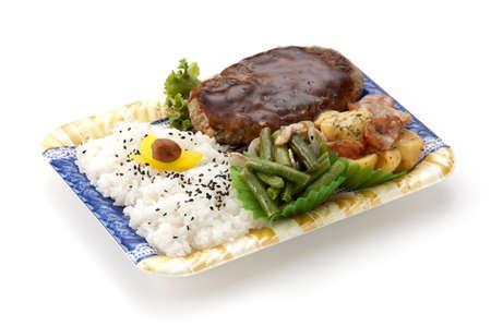 bento: Hamburger Steak Bento