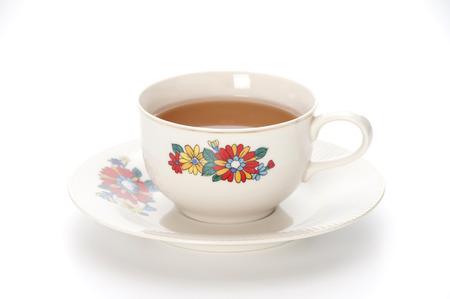 tableware life: tea break Stock Photo