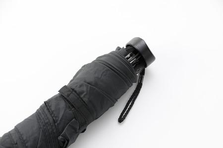fold back: folding umbrella Stock Photo
