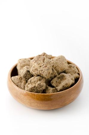 enhancer: black, sugar, raw sugar, muscovado, muscovado brown sugar Stock Photo