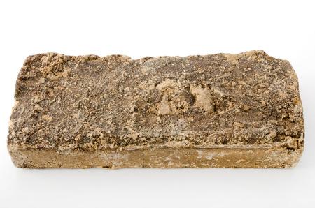teacake: black, sugar, raw sugar, muscovado, muscovado brown sugar Stock Photo