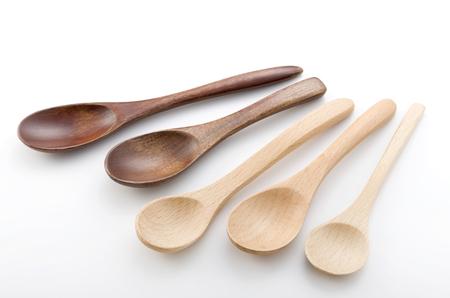 cuillère en bois, cuillère, cuillères