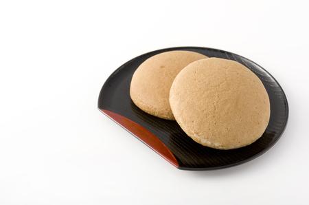 teacake: TYNNYFUYKURU (Okinawan sweet). Traditional Okinawan confectionery