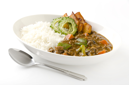 vegetable curry: summer vegetable curry, foods, curry