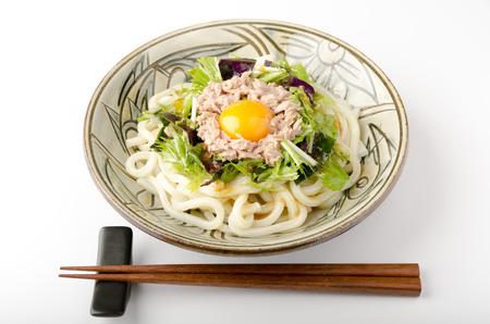 potherb: Bukkake chilled udon