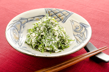 NIGANANOSHIRAAE okinawan cuisine Stock Photo