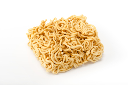 unravel: Instant ramen, instant noodle, Stock Photo