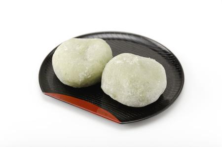 teacake: mugwort rice cake