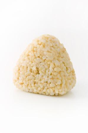 玄米おにぎり、玄米、玄米