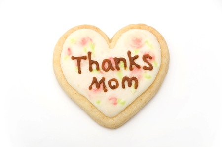 Handmade icing cookie for mother's day 写真素材