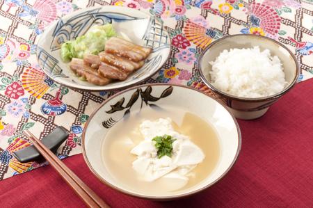flesh eating animal: Yushi Dofu (fluffy tofu from Okinawa) in Okinawa Prefecture food, okinawan cuisine, local cuisine