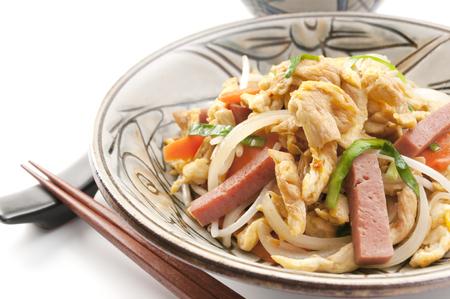 Fu chanpuru, okinawan cuisine Banco de Imagens - 61631260