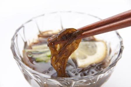 Mozuku seaweed vinegar 版權商用圖片 - 61022314