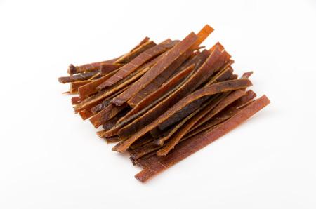 Tuna jerky Stock Photo