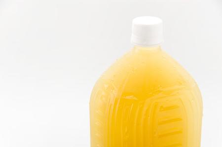 botellas pet: botellas de PET de té congelado
